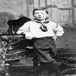 Churchill aged seven in 1881
